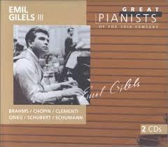 Gilels, Emil, Brahms, Chopin, Clementi, <b>Grieg</b> - <b>Emil Gilels</b> 3 (III ...