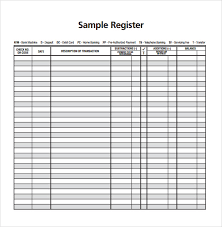 28 Images Of Check Register Form Template Leseriail Com