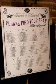 Vintage Inspired Seating Chart