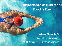 Importance of Nutrition: Food is Fuel Ashley Binns, M.S. University of  Arkansas Ph.D. Student – Exercise Science. - ppt download