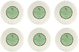 <b>Bvlgari Au the Vert</b> (Green Tea Soap) - 2.6 Ounces/75 Grams Each ...