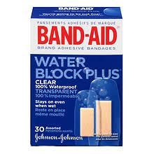 <b>Band</b>-<b>Aid</b> Adhesive Bandages Assorted Sizes <b>Clear</b> | Walgreens