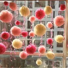 Paper Flower Balls To Hang From Ceiling How To Make Hanging Tissue Paper Balls Custom Paper