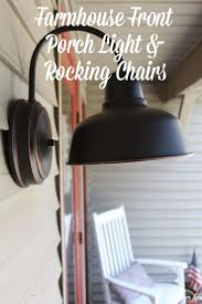 outdoor porch lighting ideas. new front porch light u0026 rockers curb appeal hop week 4 outdoor lighting ideas g