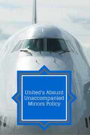 alaska airlines guardian form united airlines has an absurd new unaccompanied minors policy the