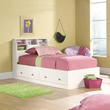 twin bed with storage and bookcase headboard.  Storage Twin Bookcase Headboard Bed 2018 Intended Twin Bed With Storage And Bookcase Headboard O