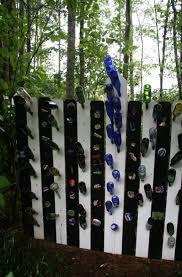 DIY Bottles Garden Fence