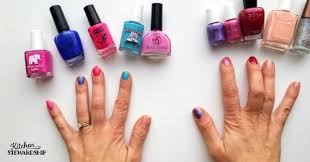 non toxic nail polish performance results