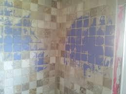 old bathroom tile. Bathroom Tile Loversiq Painting Plastic Wall Old