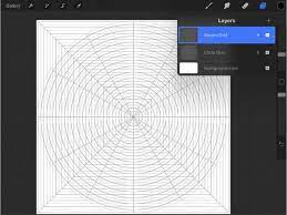 Enable the customizable perspective grid for additional help when drawing. Procreate 10 Grid Template Brush Stamps Brushset Designed Etsy