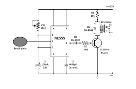 simple touch sensitive switch circuit jpg 989 648