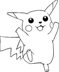 Kleurplaat Pokemon Go