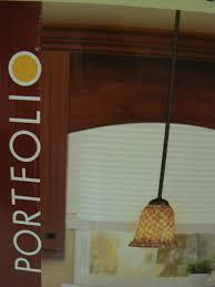 portfolio mosaic glass bell pendant light dark bronze finish 6 x6 x5 7