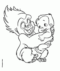 140 Dessins De Coloriage Tarzan Imprimer Sur Laguerche Com Page 1