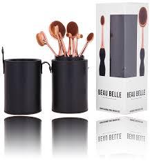 oval brush set holder. beau belle oval mastery brush pot holder set - makeup brushes make up e