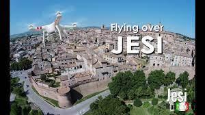 Flying over JESI - YouTube