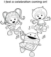 Team Umizoomi Printable Coloring Pages Printable Coloring Pages Nick