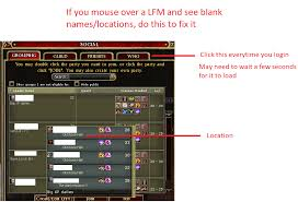 Ddo Tr Xp Chart Guide How To Fix The Blank Lfm Bug And Figure Out Where