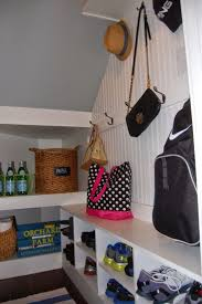 ... Best Closet Under Stairs Ideas Mudroom Reveal A Tiny Room Packed Tons  Of Storage Space Pantry ...