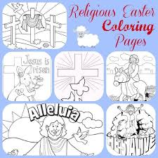 12 Free Christian Easter Coloring Pages Church House Collection