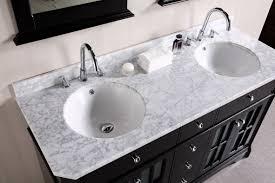 bathroom sink vanities. traditional-style double bathroom vanity with single wide mirror sink vanities