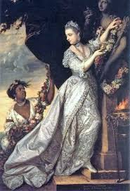 hatsuyo shimazaki on twitter this painting of lady elizabeth keppel and a servant by joshua reynolds reminds me of a famous portrait of dido belle at