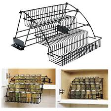 Rubbermaid Coated Wire In Cabinet Spice Rack Rubbermaid Coated Wire InCabinet Spice Rack Storage Organizer 55
