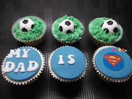 Order My Dad Is A Super Hero Cupcakes Online Birthday Cake In