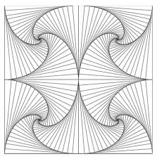 Printable Coloring Pages geometric shape coloring pages : Geometric Coloring Pages - coloringsuite.com