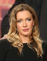KATIE CASSIDY at CW arrow Panel TCA Press Tour in Pasadena.