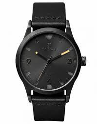the 15 best mens watches under £500 triwa all black watch men