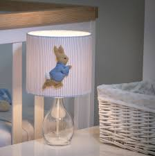 peter rabbit lamp nursery design ideas