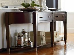 black hallway furniture. Furniture: Hallway Accent Table Best Of Cosmopolitan Hall Console By Bassett Pieces - Black Furniture
