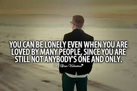 Image gallery for : lonely in love quotes