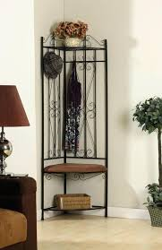Corner Entry Bench Coat Rack Best Hall Tree Decorating Ideas Metal Corner Entryway Hall Tree Coat Rack