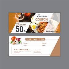 How To Design A Voucher In Word Gift Voucher Food Of Restaurant Restaurant Vouchers Gift