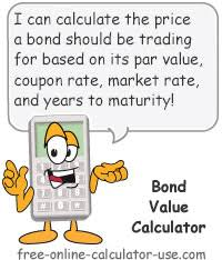 Bond Value Calculator What It Should Be Trading At Shows Work