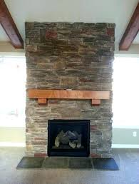 remodel fireplace mantel a reface brick fireplace ideas stone veneer remodel thick wood mantel shelf panels