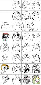 Rage Comic Faces - Le Rage Comics via Relatably.com