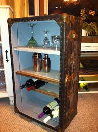 Another Really Cool Idea Old Trunk Into A Mini Bar Old