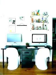 two desk office. 2 Person Office Desk For Two Persons  .