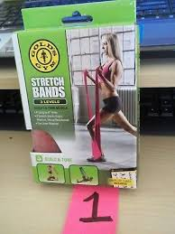 Golds Gym 12 Level Stretch Assist Strap Progressive