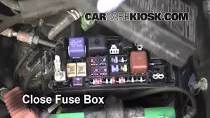 blown fuse check 1995 2004 toyota tacoma 2004 toyota tacoma pre 6 replace cover secure the cover and test component
