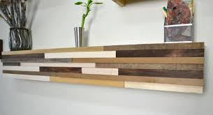 wooden wall art shelves