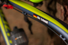 Customize Your Bike With Name And Flag Bike Stickers