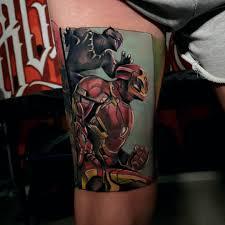 At Retrosestro Aleksandra Tattoos Comic Marvel Ironman