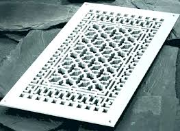 decorative vent covers air returns ceiling registers whites ac wall r ling register best photos