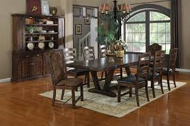 emerald dining collections castlegate rustic large dining table