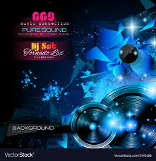 Club Flyers Design Online Disco Night Club Flyer Layout With Music Themed