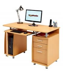 office computer desk. emperor computer desk with 3 drawers a4 filing a cabinet and sliding keyboard shelf office o